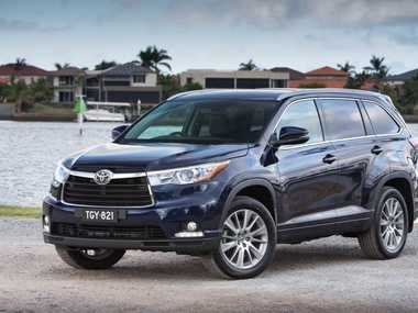 The new Toyota Kluger.