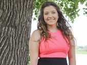 IN THE RUNNING: Rachael Mackenzie has long wanted to be a Jacaranda Queen candidate.
