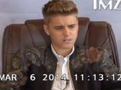 A VIDEO of Justin Bieber being interviewed for a court deposition reveals a pouty, belligerent and at times confused man.