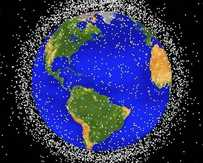 Australian researchers have been given a $10m grant to target space junk. NASA image.