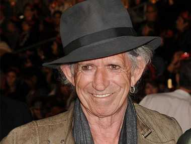 Keith Richards is writing a children's book with his daughter.