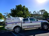 Gladstone Police uncovered materials suspected of being used in the production of methylamphetamine at a Barreenong St, Glen Eden address on Wednesday morning.