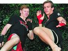 MUAY Thai fighters across the state will be watching who they are matched with after Blair Bretag and Ben Young won their maiden kickboxing fights.