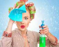 NEAT FREAKS: Australia is ranked one of the highest in the world for the amount of time its women spend on routine housework, shopping and caring for household members.