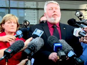 Bruce and Denise Morcombe speak after Cowan found guilty