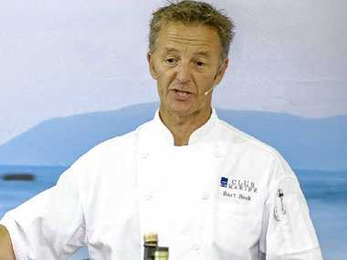 Bart Beek, the author of Club Marine Gourmet Delights, will give demonstrations at the Brisbane Tinnie and Tackle Show.