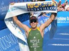 AUSTRALIAN championship winner, Aaron Royle, is striving for a podium finish in the Mooloolaba Triathlon in a field with five of the world's top 10 triathletes.