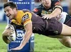 THE Queensland derby between Brisbane and North Queensland went to script in front of 42,303 boisterous fans at Suncorp Stadium last night.