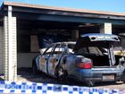 A SUSPICIOUS car fire has damaged a set of units in Avenell Heights.