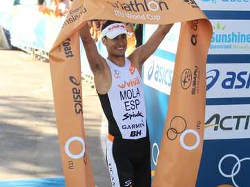 The Mooloolaba Triathlon tortured the best to see who had it in them to win.