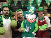 THE Guinness was flowing and plenty of green on show as Toowoomba celebrated St Patrick's Day in style yesterday.