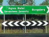 WE'RE not sure how Bundaberg's tourism campaign is going, but a new sign pointing to 'Bungaberg' may be leading people off track.