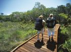 FRASER Island's three-day Great Walk trail is about to become 52km longer with volunteers due begin work to extend the trail on Sunday.