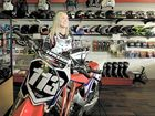 KACEY Collins started riding motorbikes at the age of six.