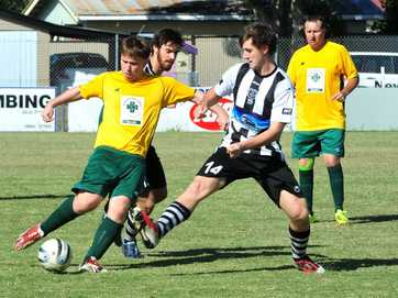 A selection of photos taken at the soccer match between Diggers and Bingera over the weekend.