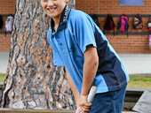 ST MARY'S Primary School student Tim Martin classifies himself as an all-rounder cricketer and medium pace bowler.