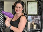18-YEAR-OLD hairdresser Maddi Lane is possibly one of the happiest business owners in town.