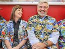 EVERY time Scott Taylor buttons up one of his funky, colourful shirts, a grin spreads across his face.