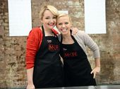 THE blondes lost to mums Bree and Jessica by just one point in tonight's closely contested sudden death cook-off.