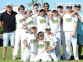 BALLINA Bears junior cricket ace Fyn Silvers has impeccable timing.