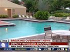 AN off-duty police officer has shot and critically injured a man in Florida - after he found him having sex in his pool.