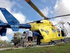 RESCUE helicopter staff have pleaded with motorcycle riders to take care after a disturbing spike in the number of injured riders needing to be airlifted.
