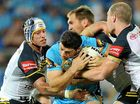 THE Gold Coast Titans bounced back from a sloppy start to consign the North Queensland Cowboys to a disturbing third successive NRL loss.