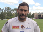 Justin Hodges two games away from 20th Origin