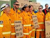 THE impartial reputation of the RFS could be threatened by police plans to use the Bentley brigade's shed, Larnook brigade deputy captain Glen Jones says.