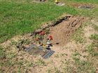 HEAVY rain and flooding has caused serious damage to the Drayton and Toowoomba Cemetery including sunken grave plots, broken headstones and erosion