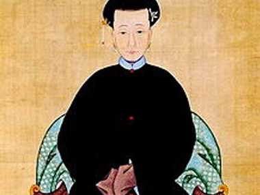 MISTAKEN IDENTITY: 17th century Chinese Empress Lady Tunggiya – definitely not MP Bernie Ripoll's wife.
