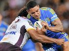 CHRIS Sandow got back in Parramatta's good books after the Eels finally broke a 20-game on-the-road losing streak against Brisbane last night.