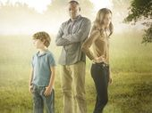 "RESURRECTION - ABC's ""Resurrection"" stars Landon Gimenez as Jacob Langston, Omar Epps as J. Martin Bellamy and Devin Kelley as Maggie Langston."