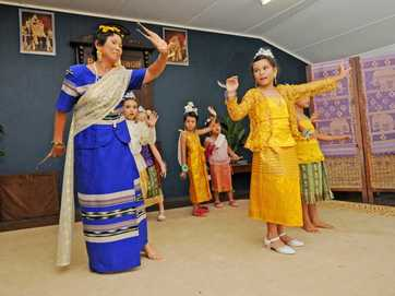 Thai New Year celebrations at the Rous Mill hall.