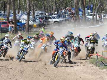 About 360 riders provided plenty of action for spectators during Round 3 of the Sunshine State MX Series at Dundowran Park at the weekend.