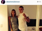 NEWCASTLE Knights forward Alex McKinnon has announced his engagement to girlfriend Teigan Power and declared he will walk her down the aisle.