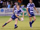 HOOKER Grant Rogers scored a double to hand Rockhampton Brothers their first win of the season over a spirited Fitzroy-Gracemere Sharks on Saturday night.