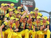 CRICKET: Australia's women's cricket team won its third-straight World T20 title with a  six-wicket win over England in Bangladesh.