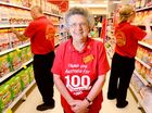 AFTER 37 years working in the supermarket industry, Bev Smalley gladly gives Coles the red thumbs up.
