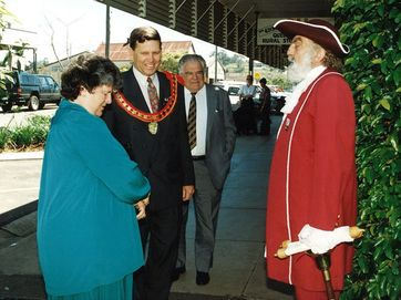 Mayor of the Scenic Rim John Brent is the longest serving mayor in South East Queensland and is celebrating 20 years of service this week.