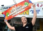 NEWTON'S Newsagency in Tweed Heads has done it again. After having 32 previous big winners with first-prize lotteries and scratchies, they now have number 33.