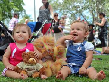 A selection of photos taken at the Teddy Bears Picnic held at Alexandra Park.