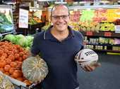 NAJI Trad loves watching footy, fishing and playing poker. He also prides himself on providing fresh produce at the St Ives Fruit Market he owns at Goodna.