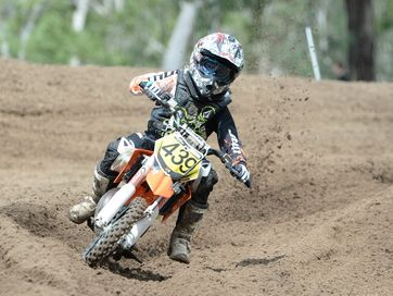Riders from across CQ met at the 6 Mile Motocross track for the Rockhampton round of the CQ Championships.