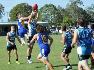 A selection of photos taken at the AFL match between Bay Power and ATW at Frank Coulthard Oval,