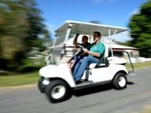 "WHEN Robert McIntyre and his ""caddies"" finish modifying their golf buggy, they are planning to turn the highways between Rocky and Killarney into fairways."