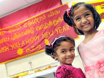 Sri Lankan New Year celebrations at the Gladstone Community Hub on April 13.