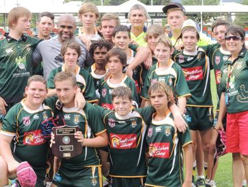 Action from the Rhys Wesser Dream Believe Achieve junior rugby league carnival held in Rockhampton on the weekend.