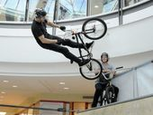 SOME of Australia's best BMX riders are ramping up the action in Grand Central's centre court this week.