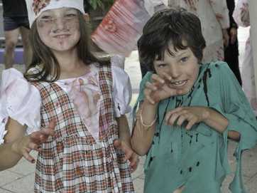 Gladstone's first Zombie Quest Walk took place on April 12 as part of the region's National Youth Week activities.